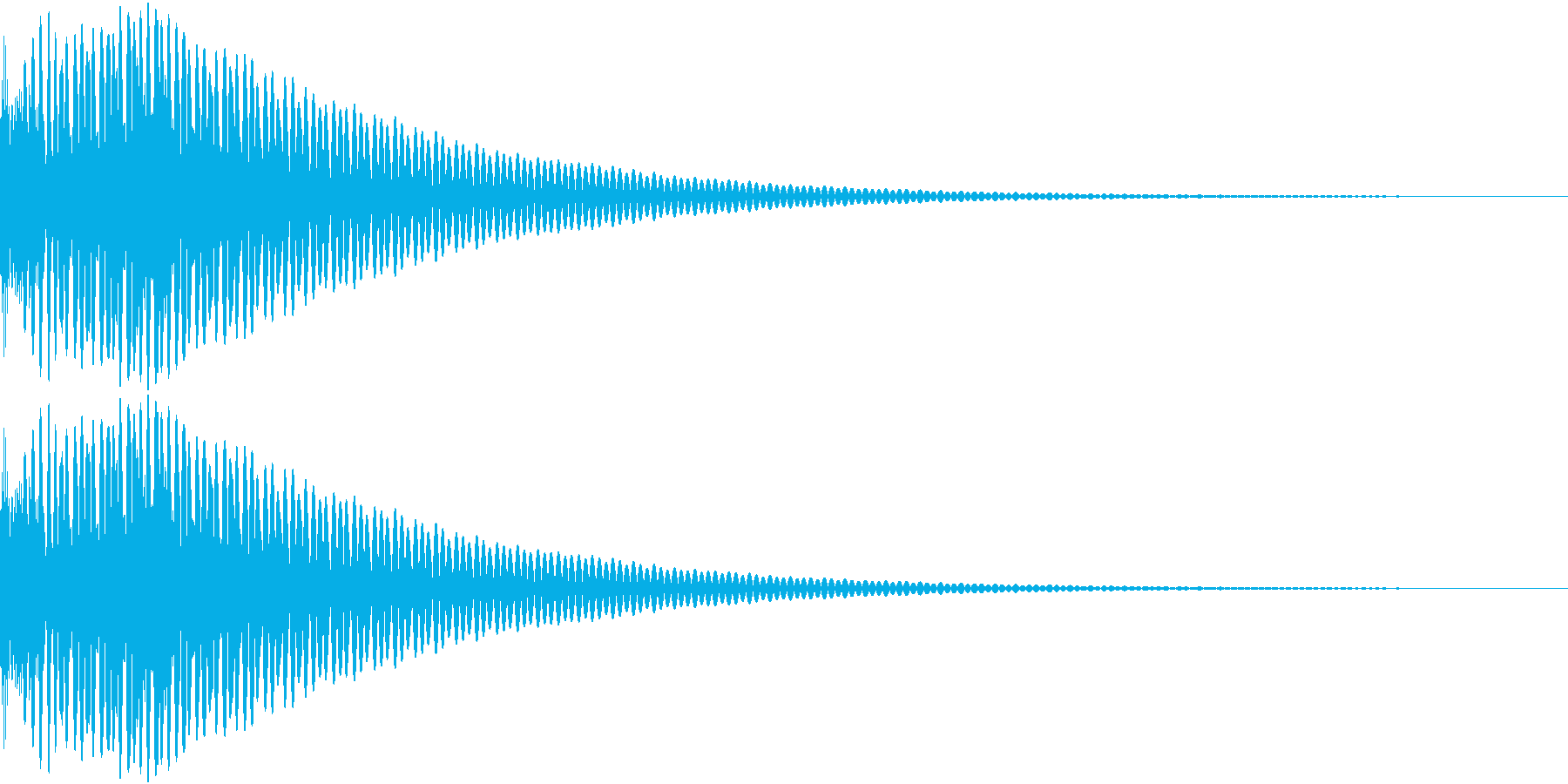 DTM Tom 13 オリジナル音源の再生済みの波形