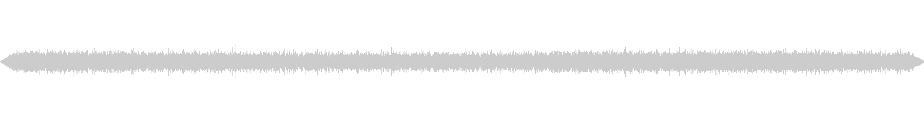 フライドポテトなどの揚げ物の音の未再生の波形