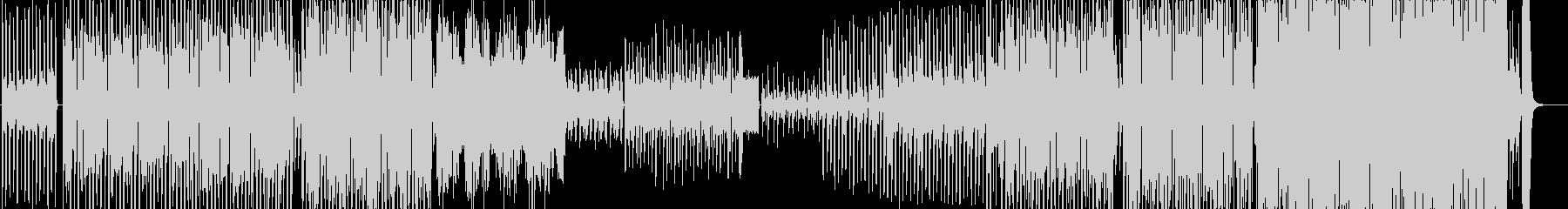 パーカッシブなダンス曲の未再生の波形
