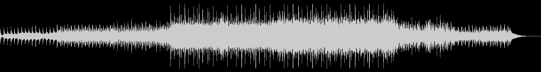 マリンバとシンセのしっとりしたヒーリングの未再生の波形