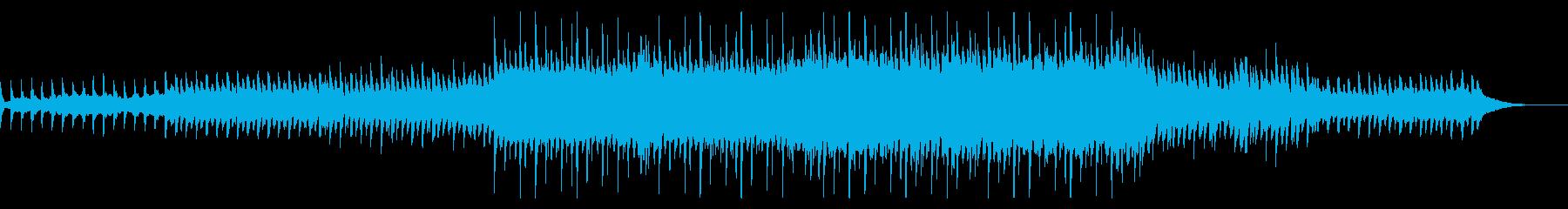 マリンバとシンセのしっとりしたヒーリングの再生済みの波形