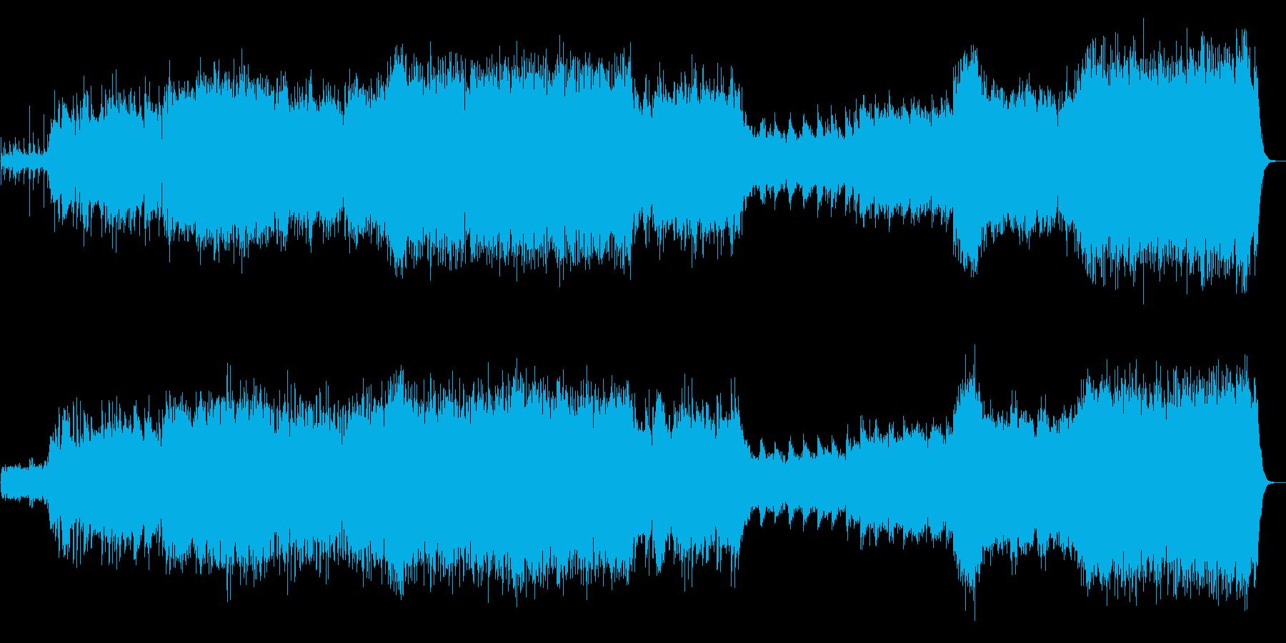 【生演奏バイオリン】民族的で壮大なオケ曲の再生済みの波形