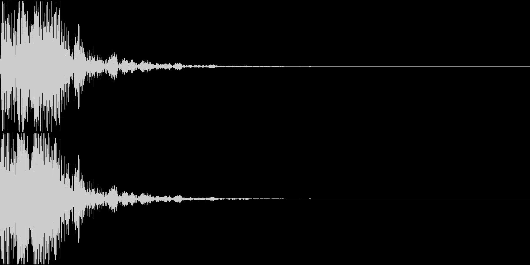[[デレレン↓]] 和太鼓、箏、三味線の未再生の波形