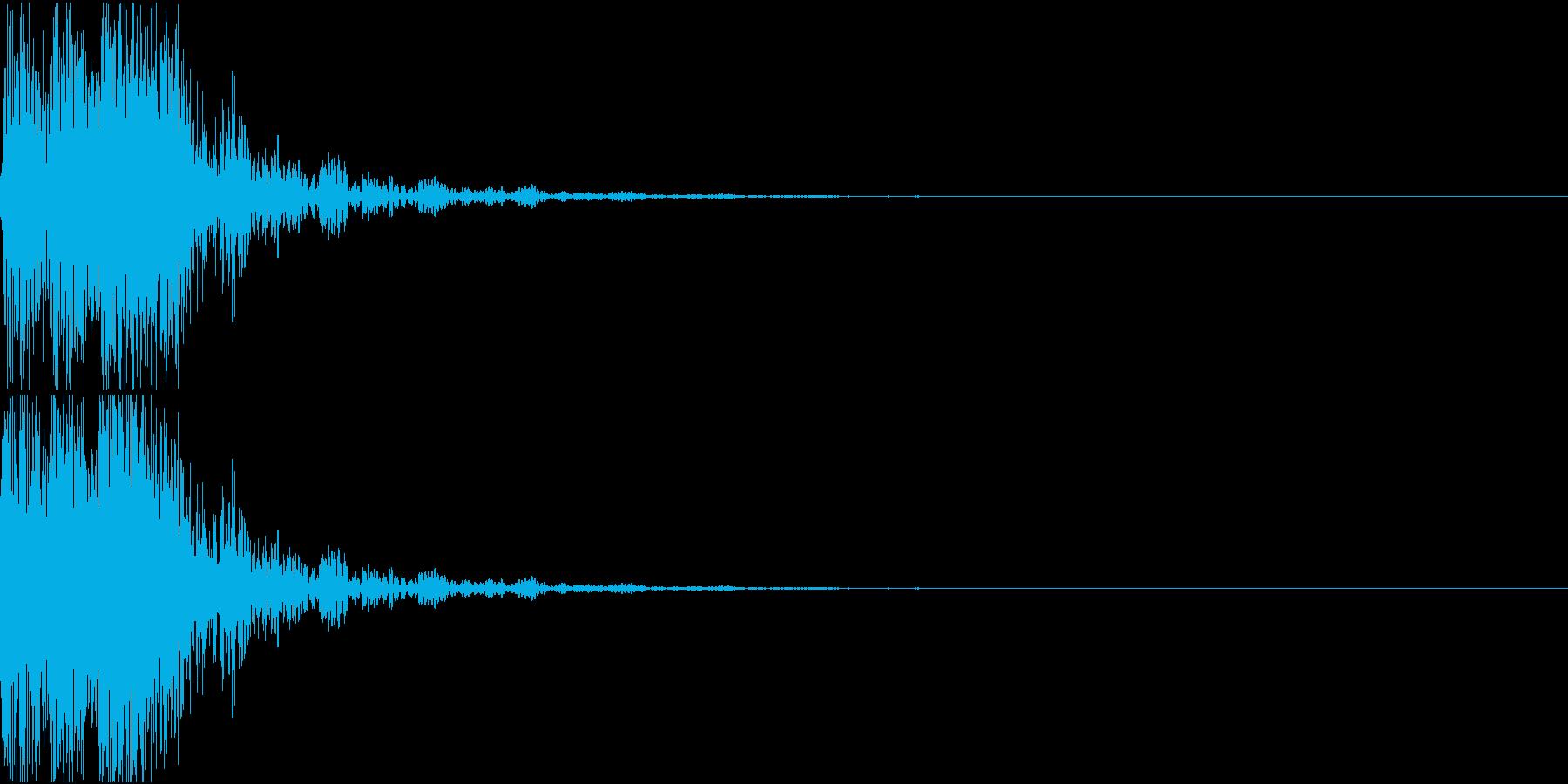 [[デレレン↓]] 和太鼓、箏、三味線の再生済みの波形