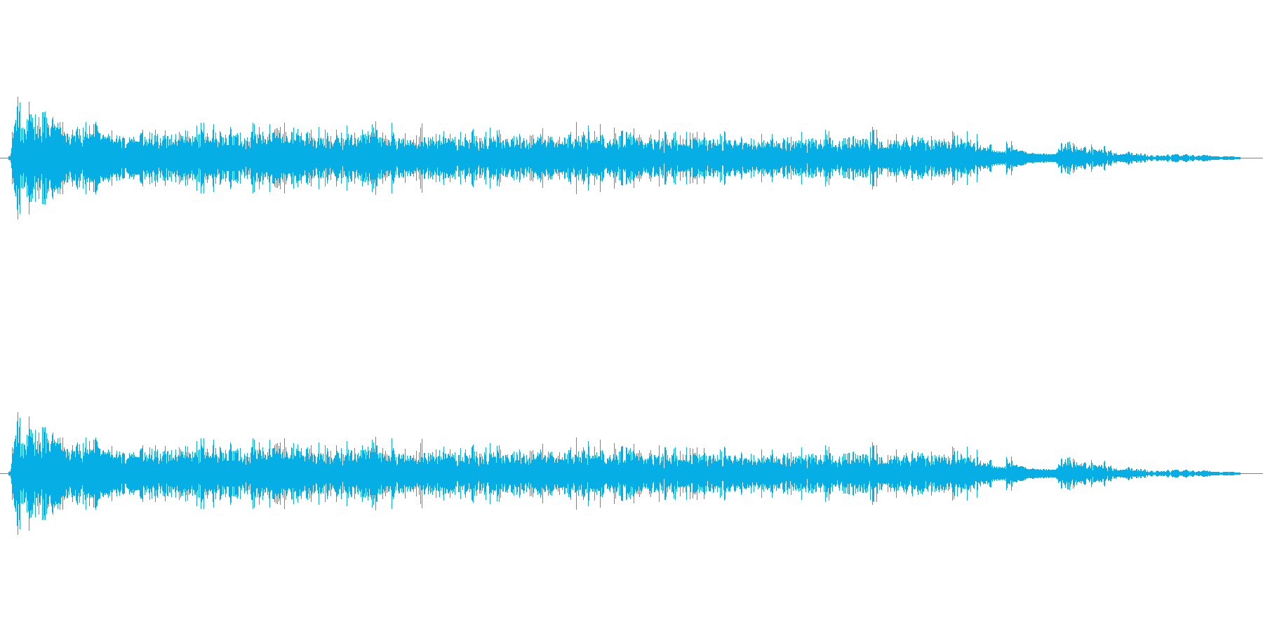 あ゛あ゛あ゛あ゛(シャウトです。)の再生済みの波形