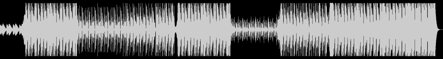 ダークでHipHopなビートの曲の未再生の波形