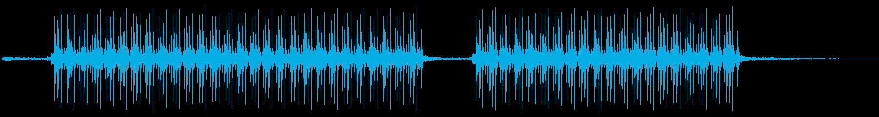 ヒップホップ楽器。反復的な溝。都市...の再生済みの波形