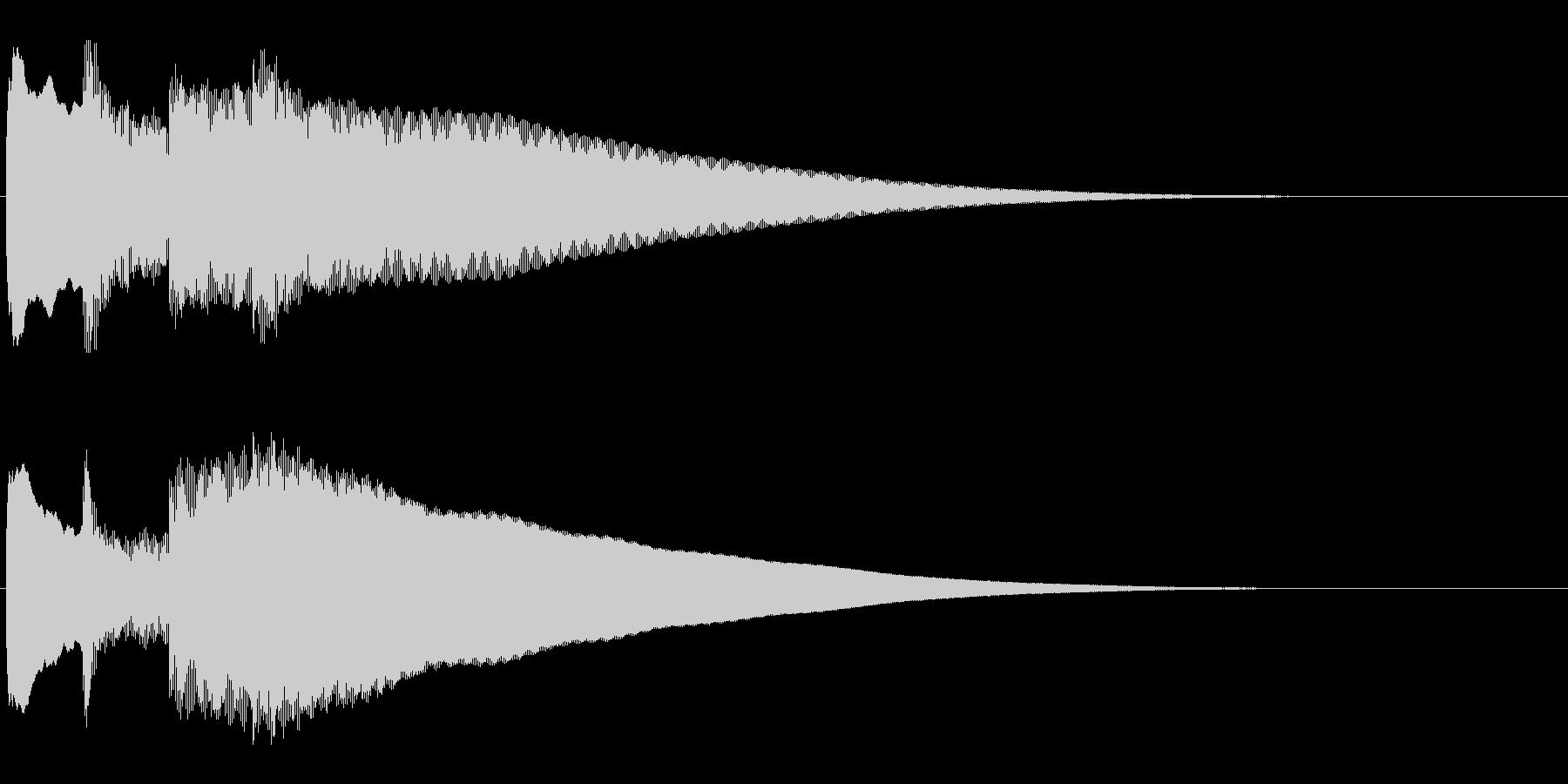 アナウンス前 チャイム-4_rev-1の未再生の波形