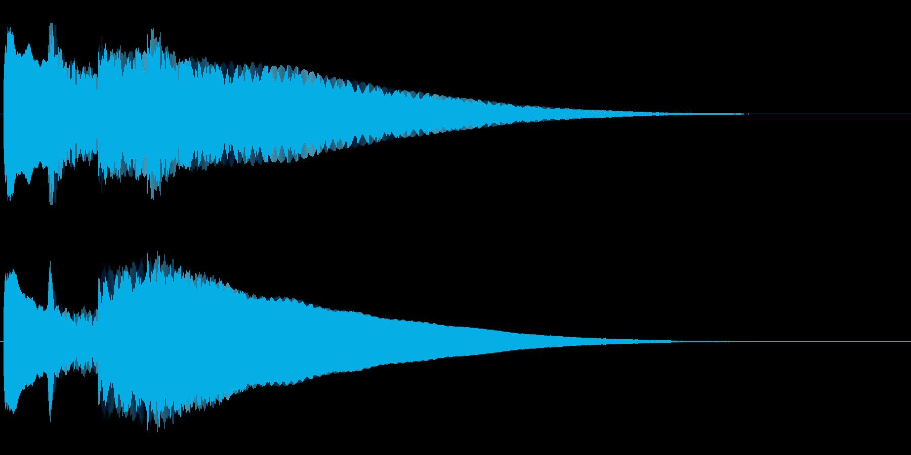 アナウンス前 チャイム-4_rev-1の再生済みの波形