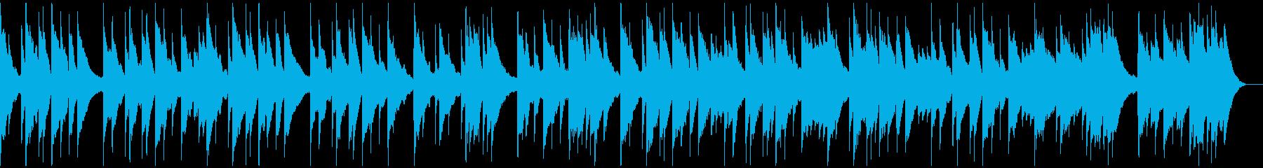 旋律が印象的なバラードの再生済みの波形