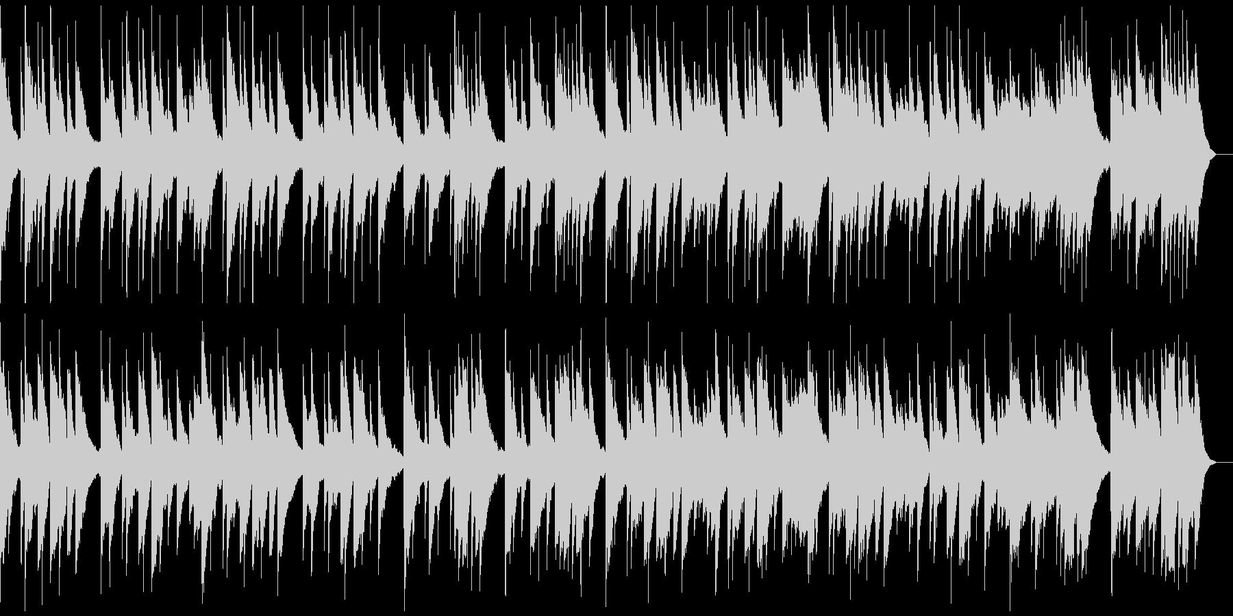 旋律が印象的なバラードの未再生の波形