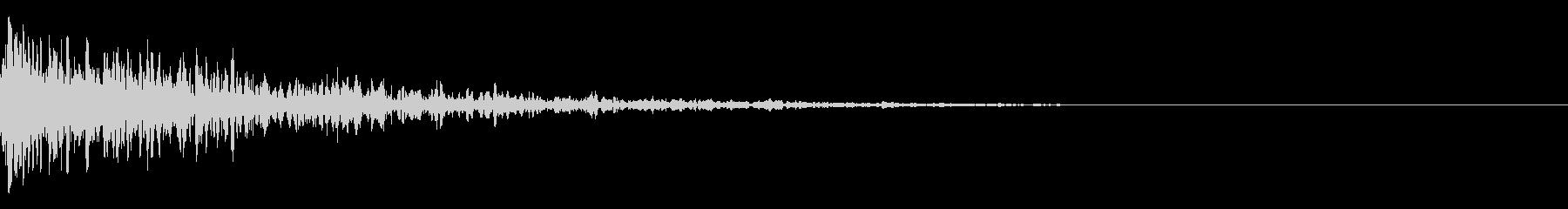 ドーン-08-1(インパクト音)の未再生の波形