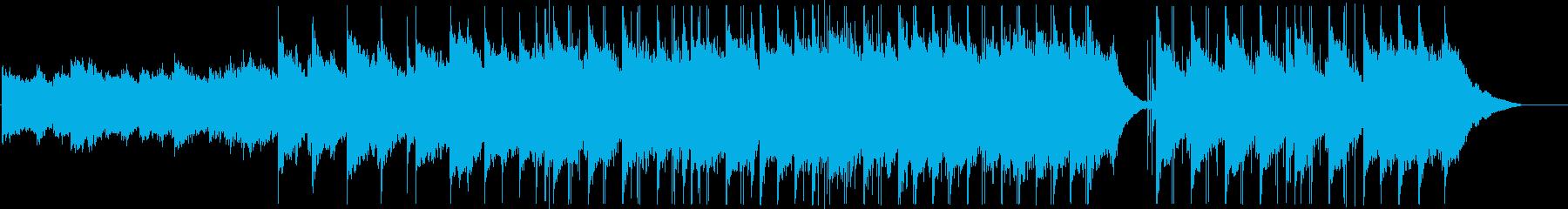 しっとりとしたシンプルなバラードの再生済みの波形