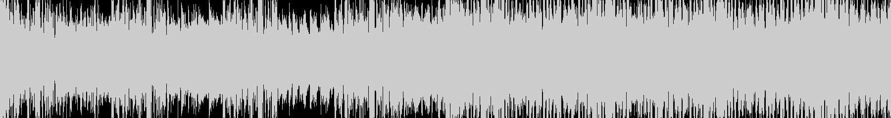 ループ対応 追われている時ドラムンベースの未再生の波形