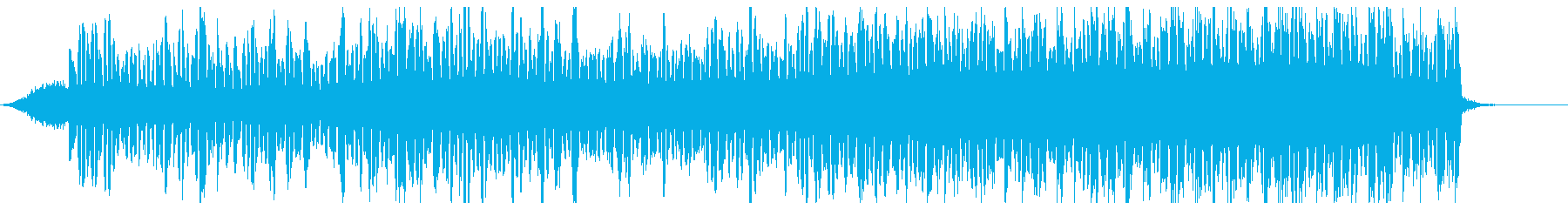 脈動する張力の手がかり。ドキドキす...の再生済みの波形