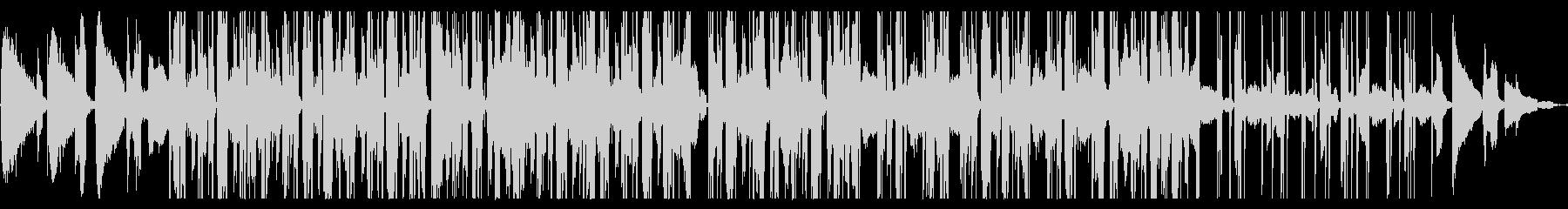 ヒップホップでレトロな曲の未再生の波形