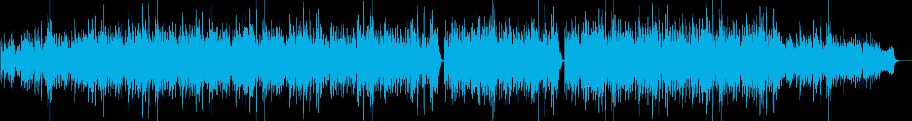 幸せ・優しい・穏やか・感動系のBGMの再生済みの波形