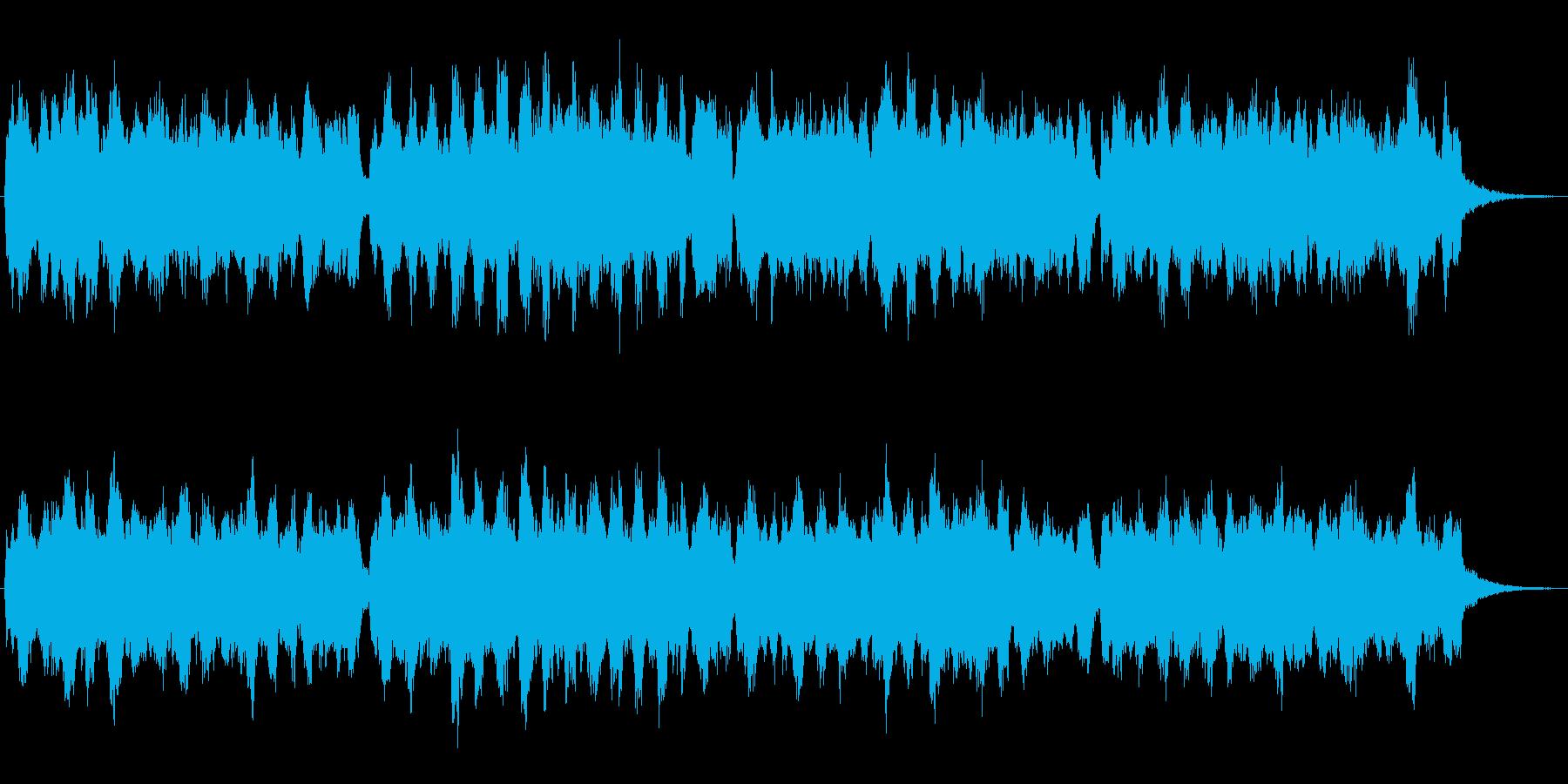 オルガンの音色が印象的な欧風なジングルの再生済みの波形