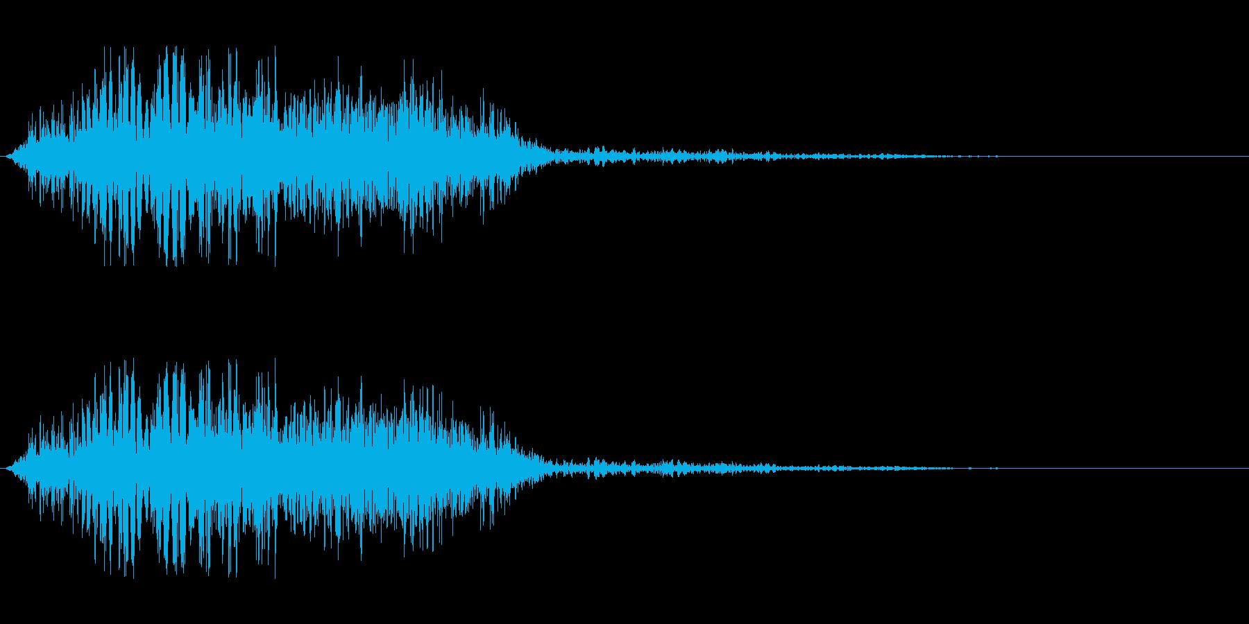 攻撃ヒット音.03の再生済みの波形