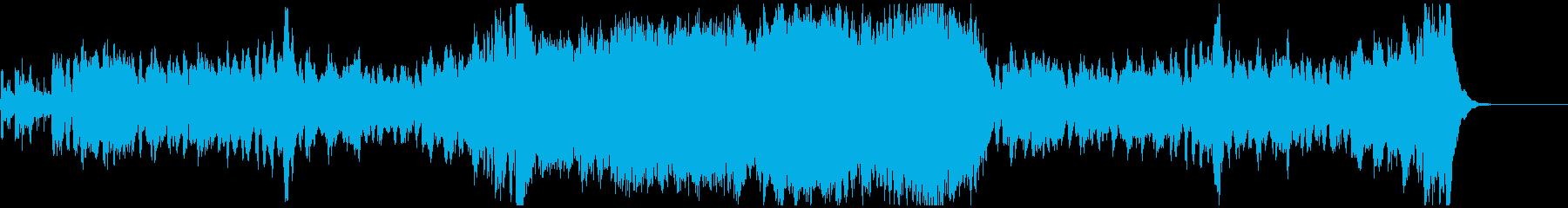 弦楽四重奏1の再生済みの波形