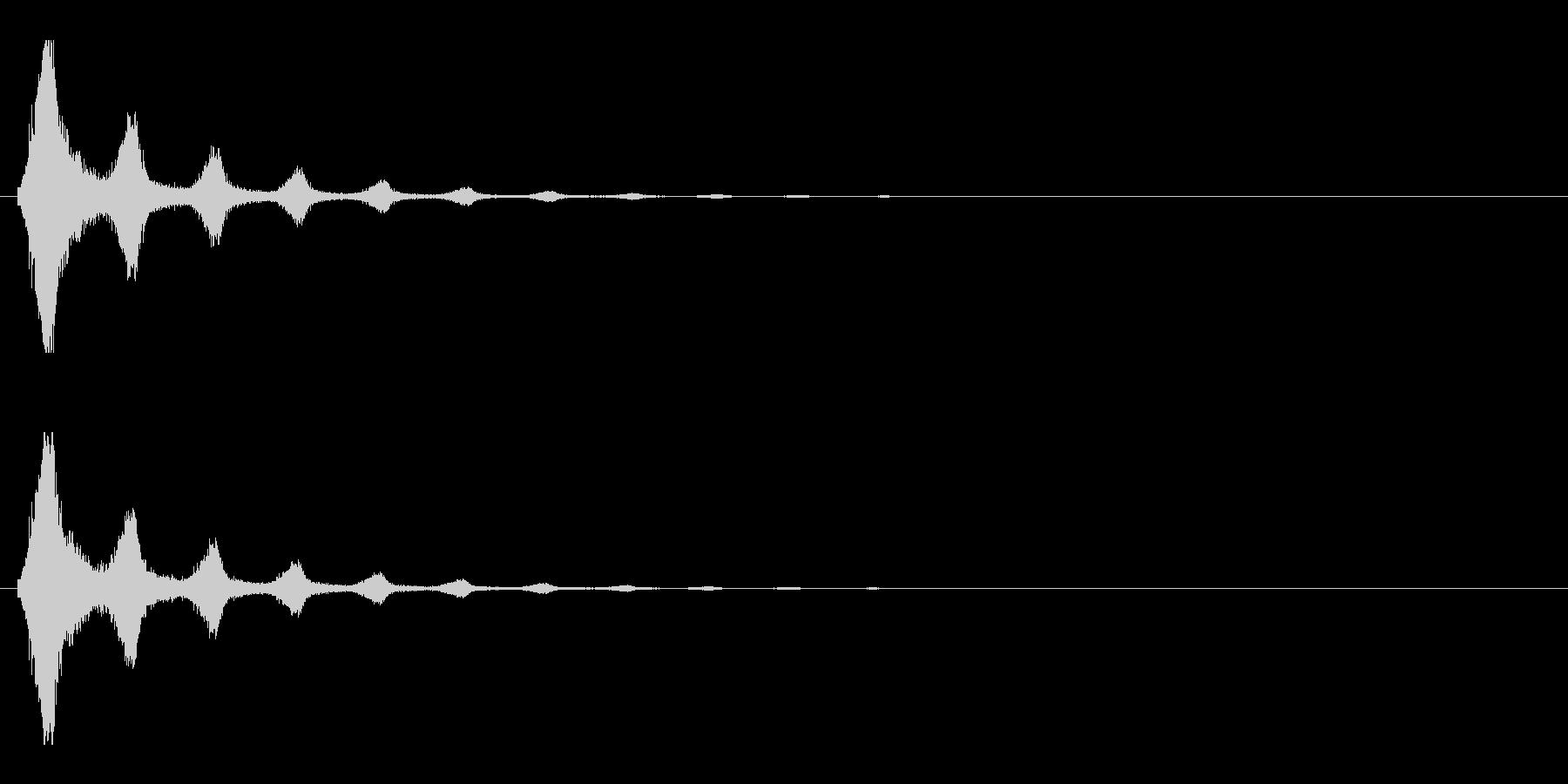 レーザー音-154-2の未再生の波形