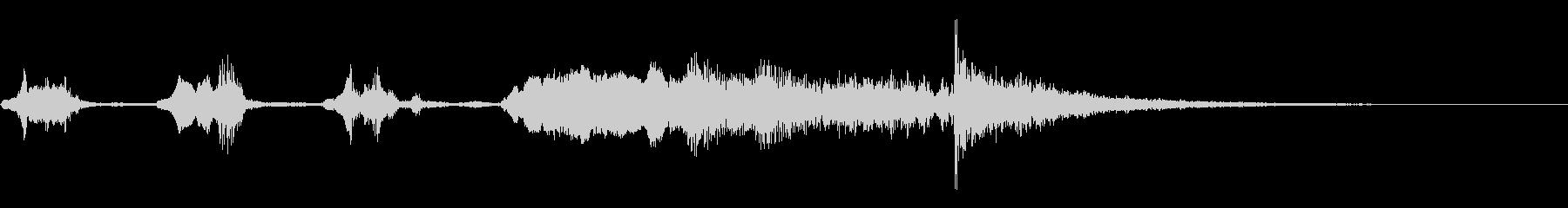 PIANO GLISSを使用したス...の未再生の波形