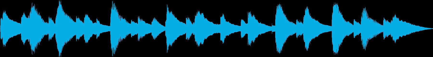 癒し系オルゴールの再生済みの波形