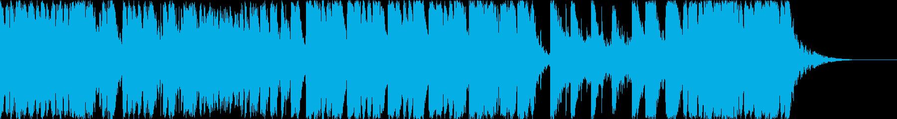 ハリウッド映画 戦闘 合唱オーケストラの再生済みの波形