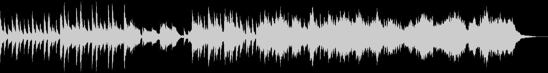琴と尺八のくつろぎ和風ヒーリングの未再生の波形