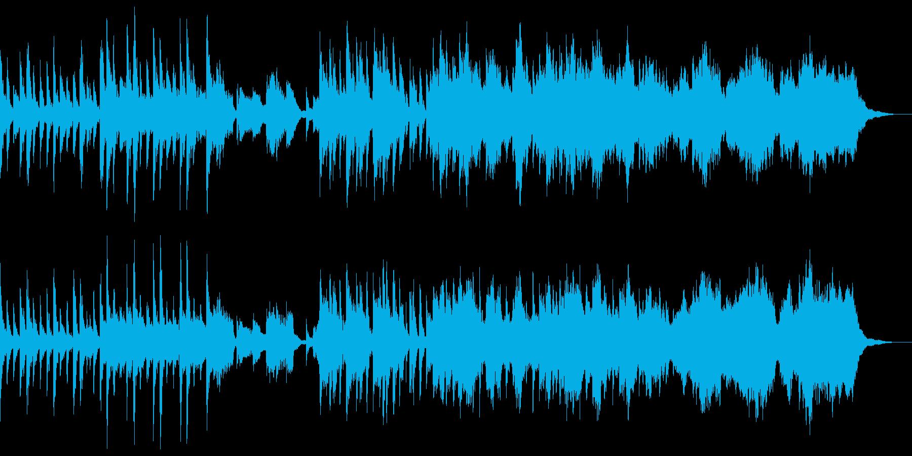 琴と尺八のくつろぎ和風ヒーリングの再生済みの波形