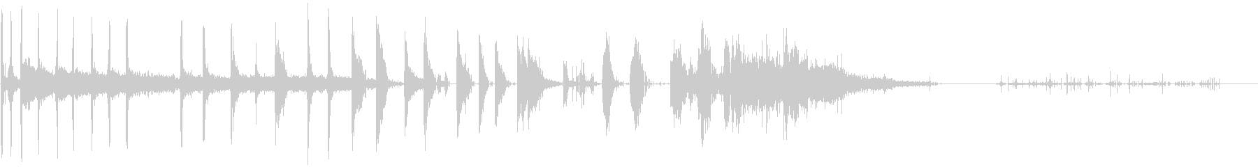 Steam-ショートバースト-人工...の未再生の波形