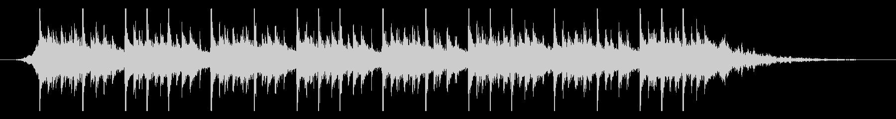 ラマダンバイラム(25秒)の未再生の波形