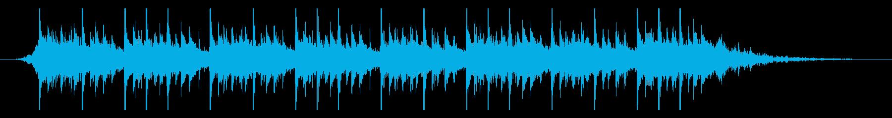 ラマダンバイラム(25秒)の再生済みの波形