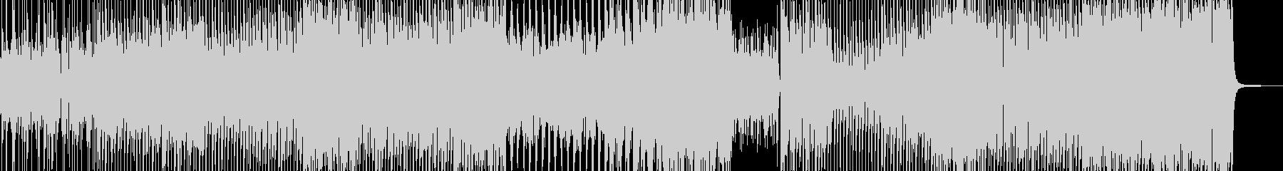 病みつきビート・怪しいテクノポップ Lの未再生の波形