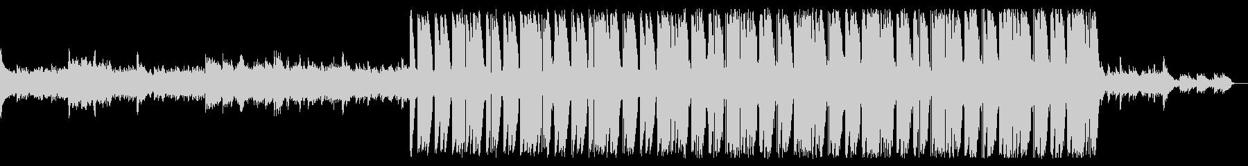 イルカと対話するバラードトラップビート曲の未再生の波形