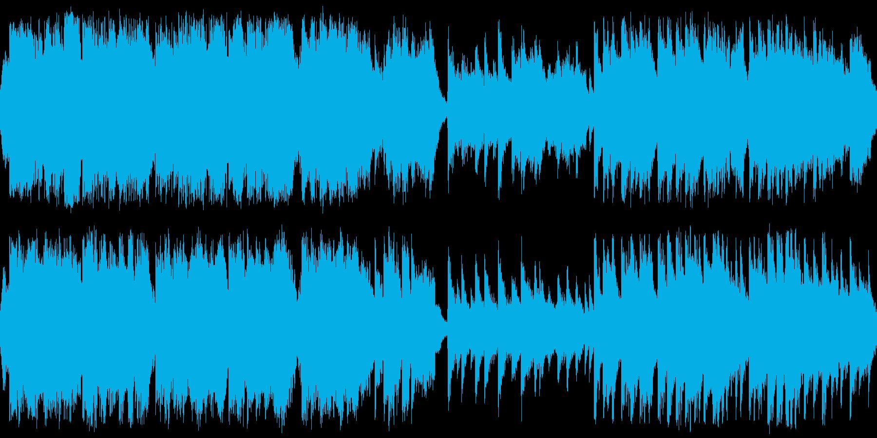 ドラマティックな侘び寂び 和風ループ仕様の再生済みの波形
