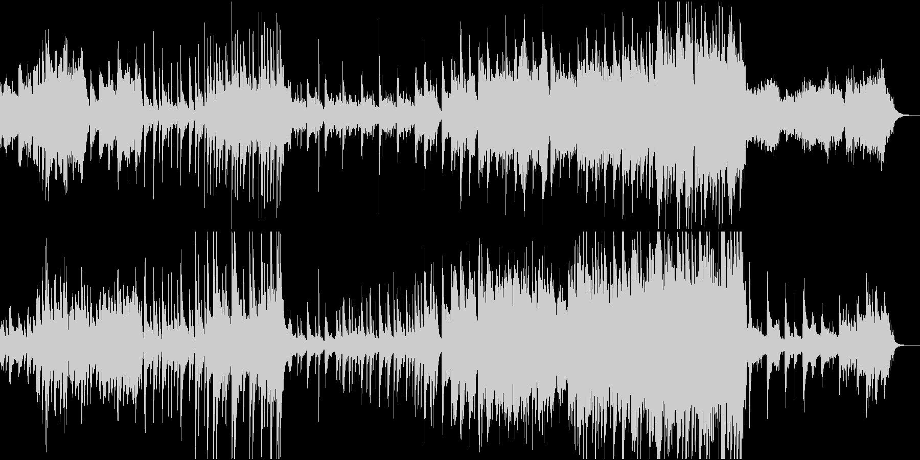 古風なヒーリングの未再生の波形