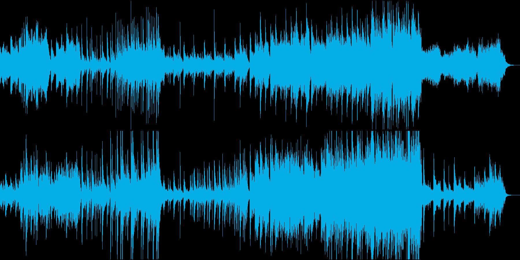古風なヒーリングの再生済みの波形
