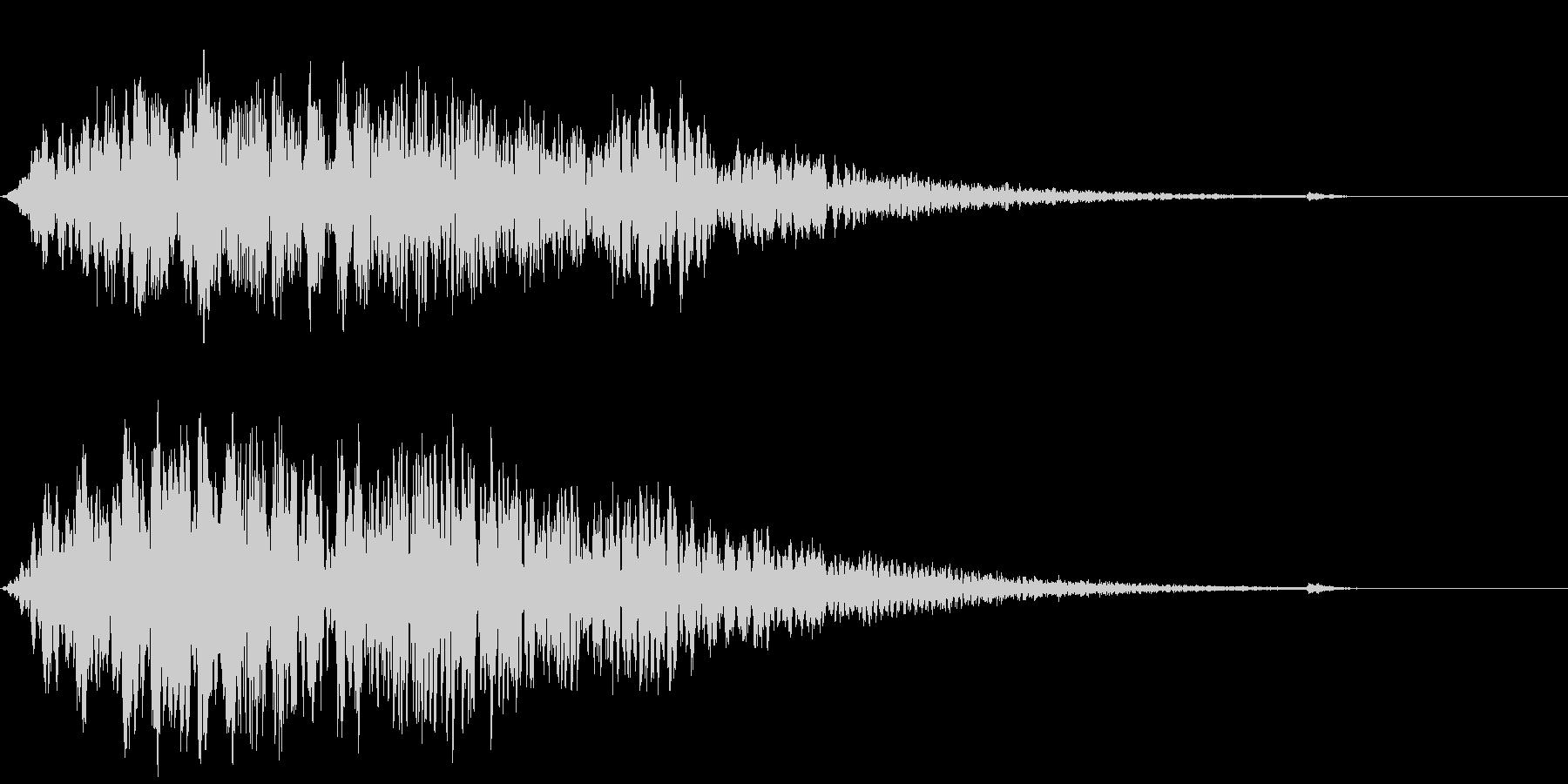 CINEMATIC DARK SFX2の未再生の波形