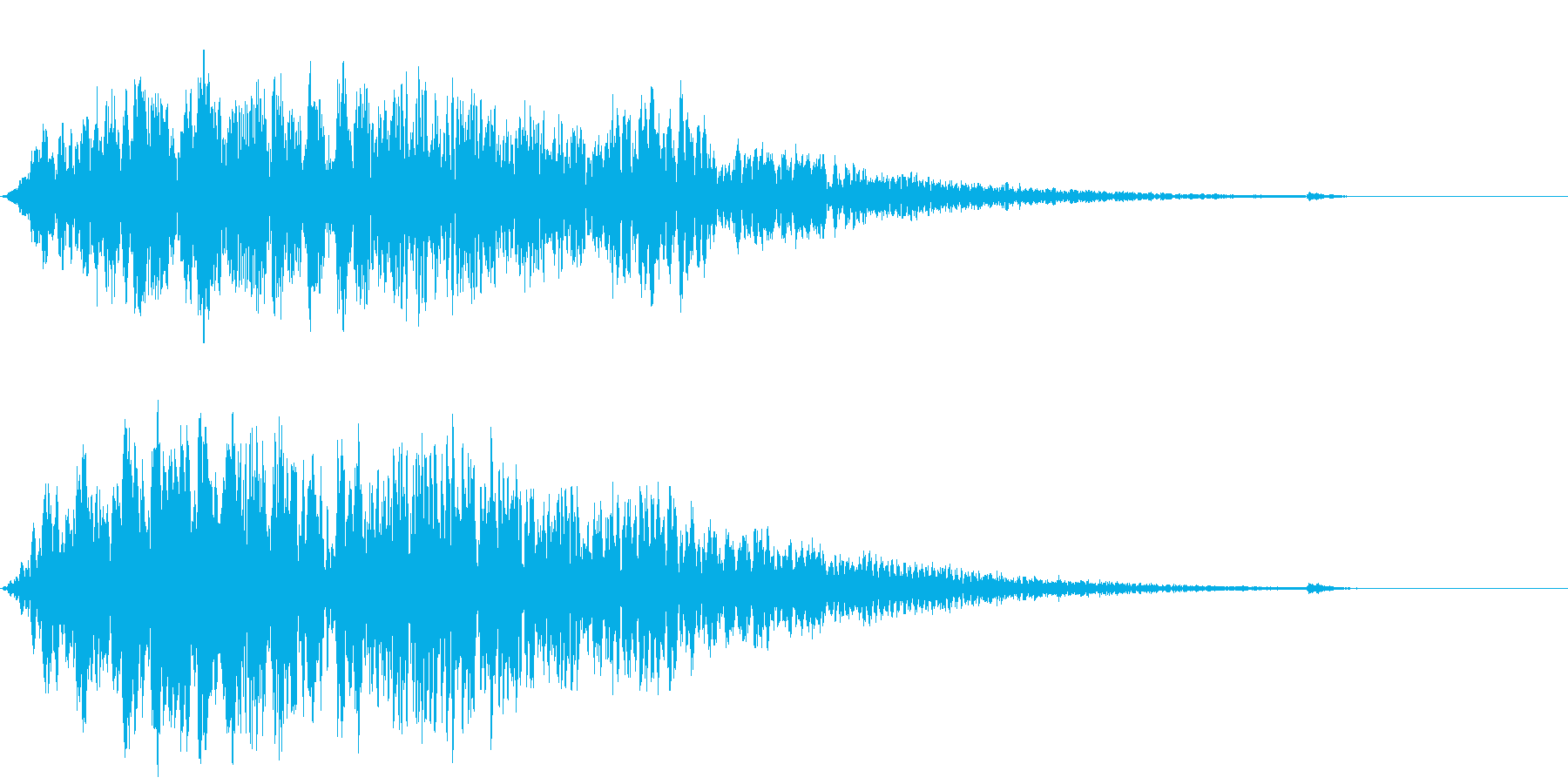 CINEMATIC DARK SFX2の再生済みの波形
