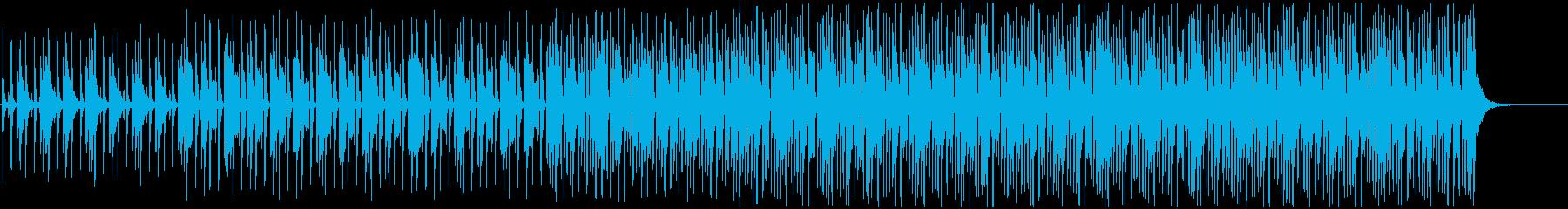 ウクレレとアコースティックギター、...の再生済みの波形