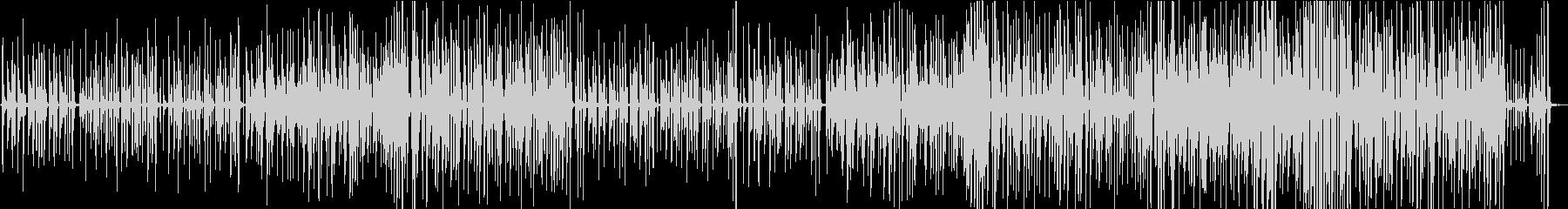 ほのぼのしたピアノトリオの未再生の波形