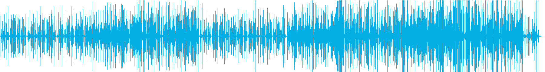 ほのぼのしたピアノトリオの再生済みの波形