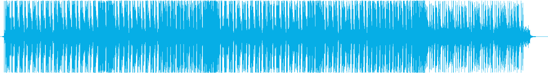 Kawaii系Future Bass 4の再生済みの波形