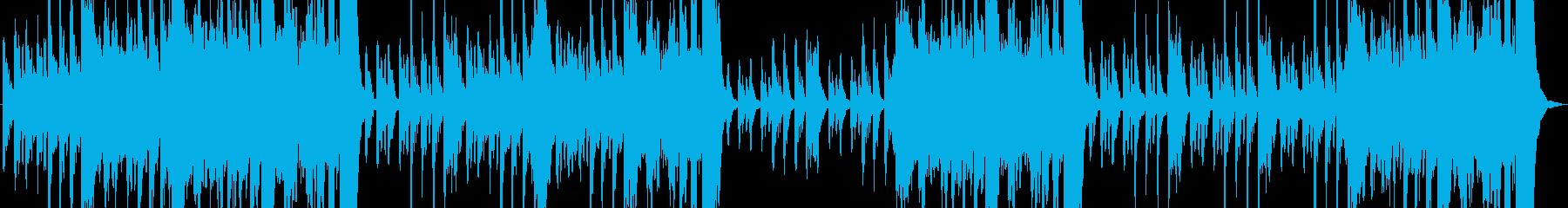 ハロウィン向け不気味な雰囲気のBGMの再生済みの波形