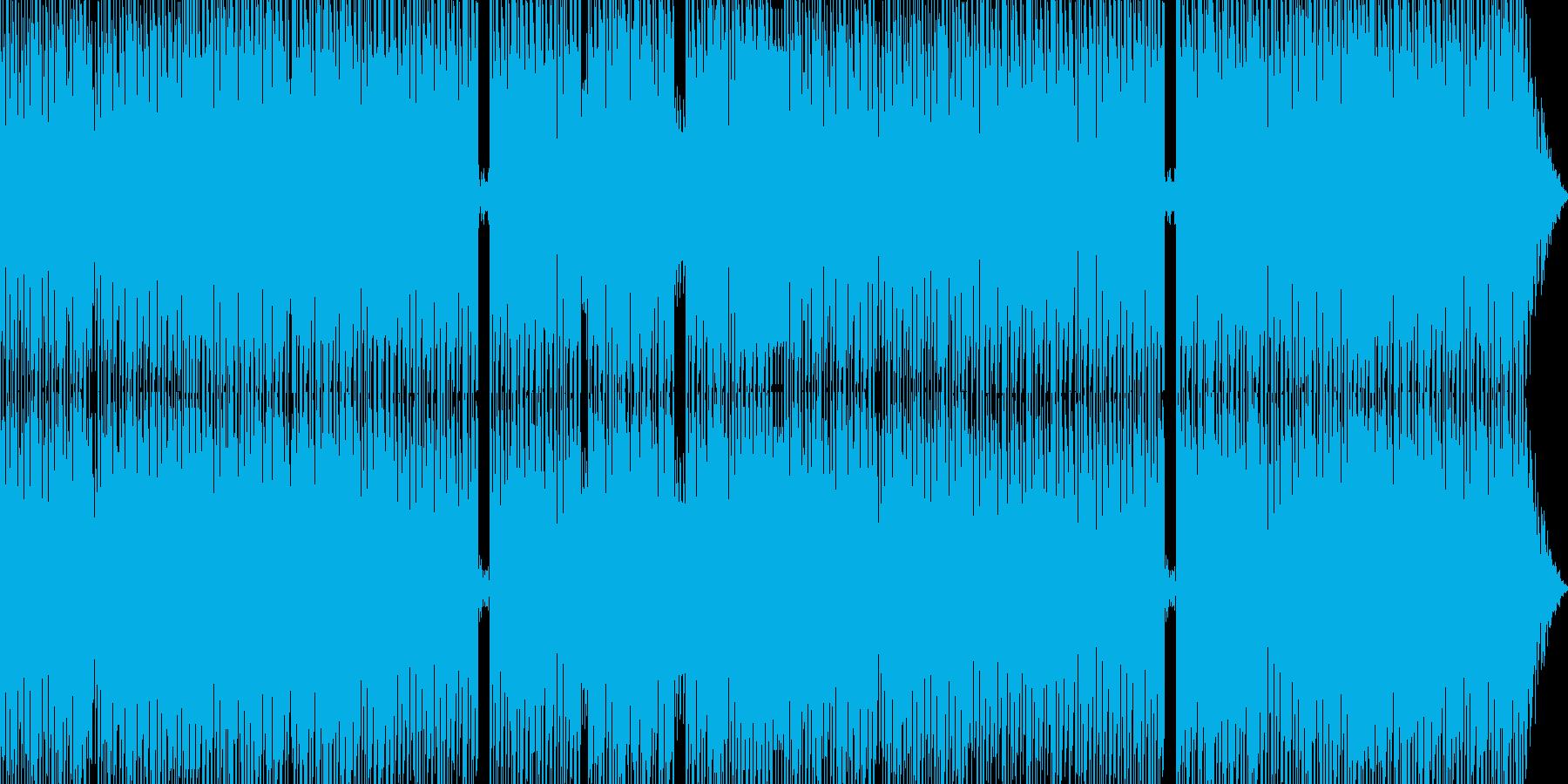 近未来疾走テクノ2の再生済みの波形