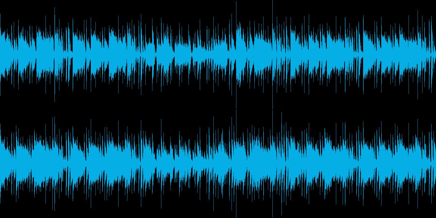モダンなレゲエの再生済みの波形