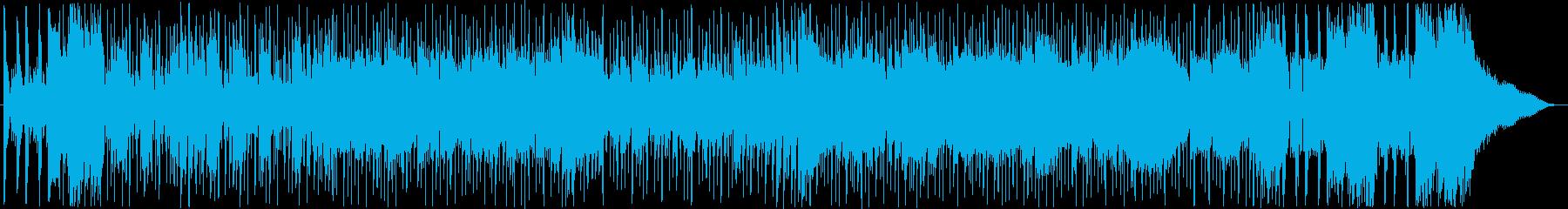 メロディアスでさわやかなシンセポップの再生済みの波形