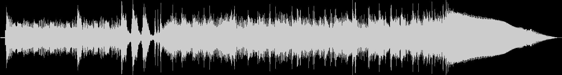 ベースサウンドで変拍子フレーズジングル曲の未再生の波形