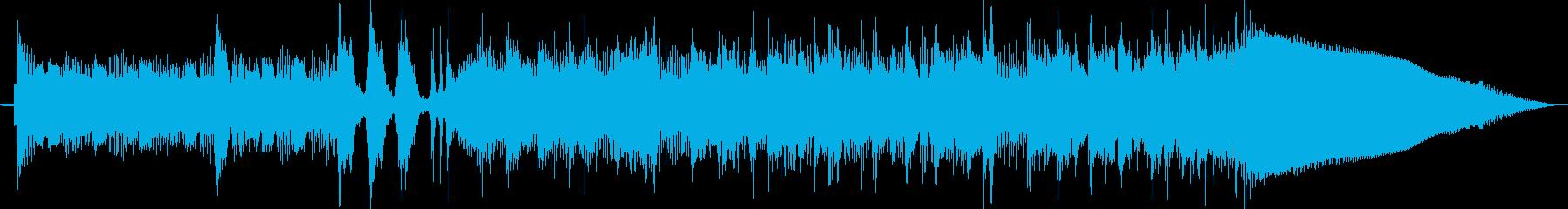 ベースサウンドで変拍子ジングル曲 CMの再生済みの波形